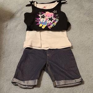 Popsicle tank outfit